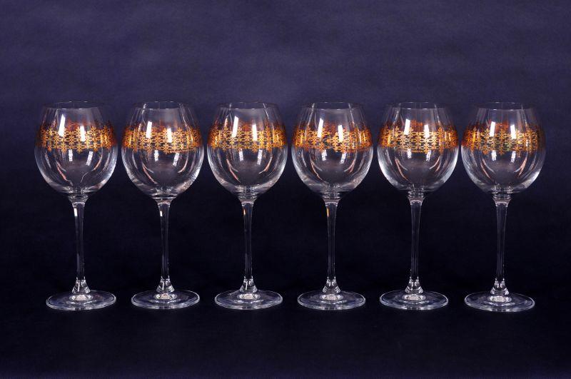 Weingläser aus Kristall